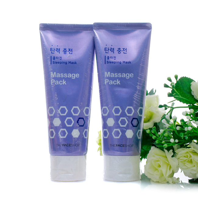 Mặt nạ ngủ The Face Shop Baby Face Collagen Lifting Massage Pack