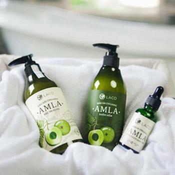Dầu Gội Thảo Dược Organic Amla