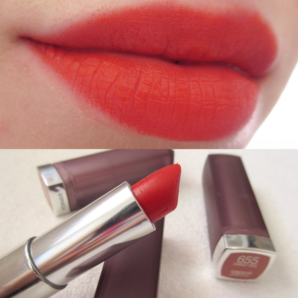 Maybelline Coral Sensational Cream Matte