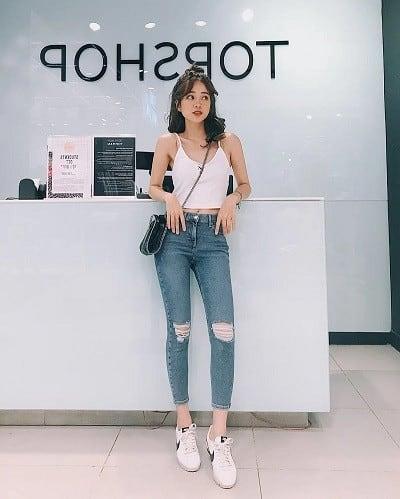 chân ngắn nên mặc gì
