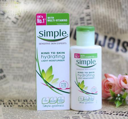 Kem Dưỡng Da Simple Kind to Skin Hydrating Light Moisturiser
