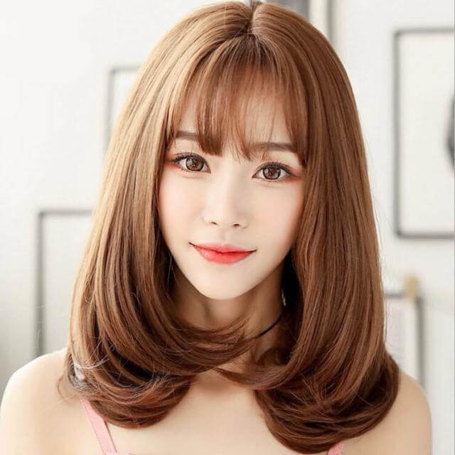 Tóc Mái Giả Xinh