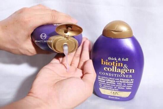 Cách Sử DụngDầu Gội Biotin Collagen