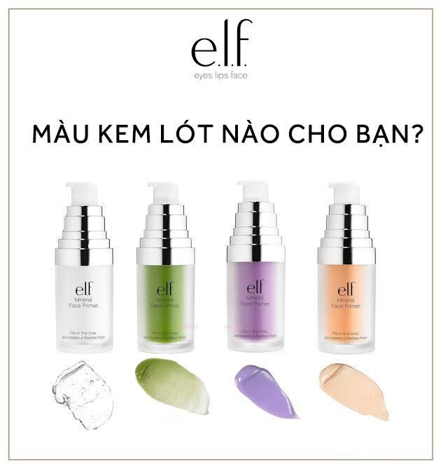 Kem Lót ELF Studio Mineral Infused Face Prime