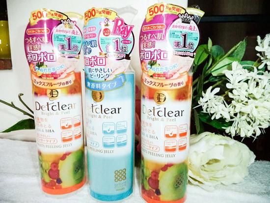 Kem Tẩy Da Chết Detclear Peeling Gel