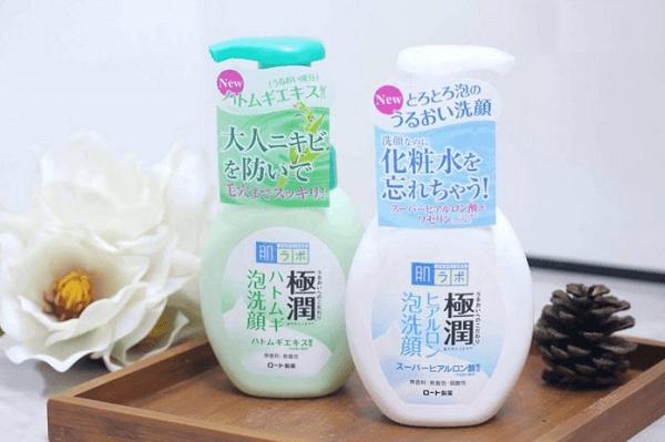kem tẩy tế bào chết của Nhật Bản