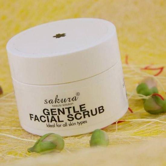 Kem Tẩy Tế Bào Chết Da Mặt Sakura Gentle Facial Scrub
