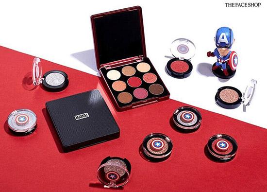 Phấn Mắt The Face Shop Mono Pop Eye Marvel