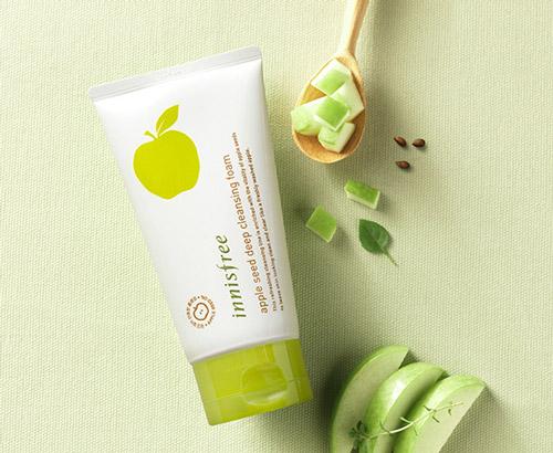 Sữa Rửa Mặt Táo Xanh Innisfree Apple Seed Deep Cleansing Foam