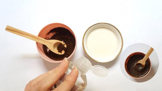 Tẩy Tế Bào Chết Bằng Cà Phê Và Sữa Chua