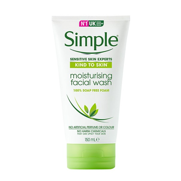 sỮA RỬA MẶT SIMPLE SKIN TO SKIN MOISTURISING FACIAL WASH