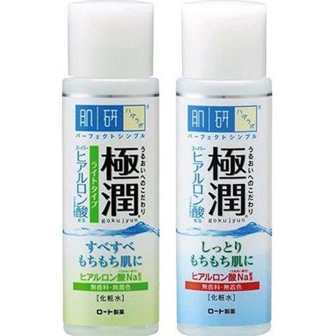 Nước Hoa Hồng Hada labo Gokujyun Hyaluronic Acid Lotion