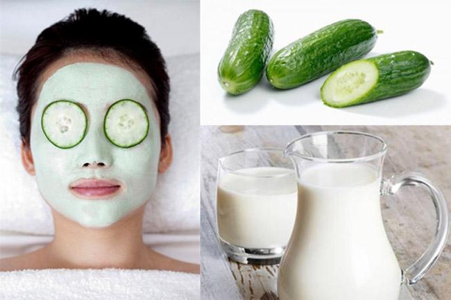 Đắp mặt nạ dưa leo hằng ngày có tốt không ?