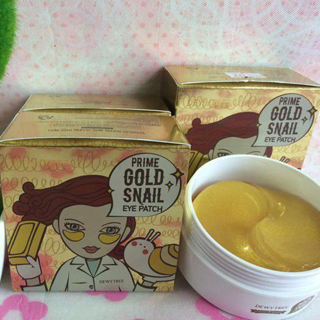 ​Mặt nạ mắt Dewytree Prime Gold Snail Eye Patch
