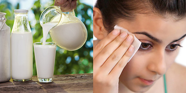 trị thâm mụn bằng sữa tươi không đường