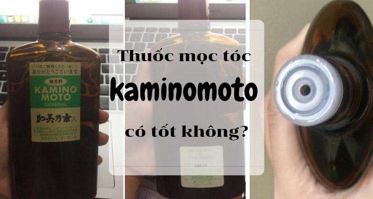thuốc mọc tóc kaminomoto review