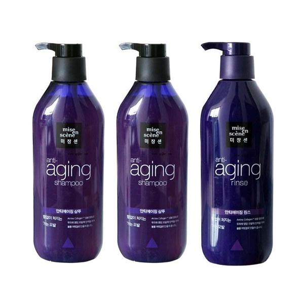 Dầu Gội Mise En Scene Anti Aging Shampoo