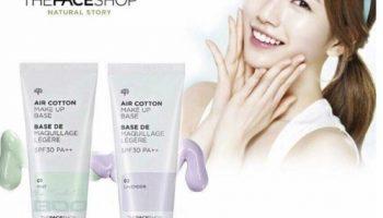 Kem Lót The Face Shop: Che Khuyết Điểm Tốt Không?