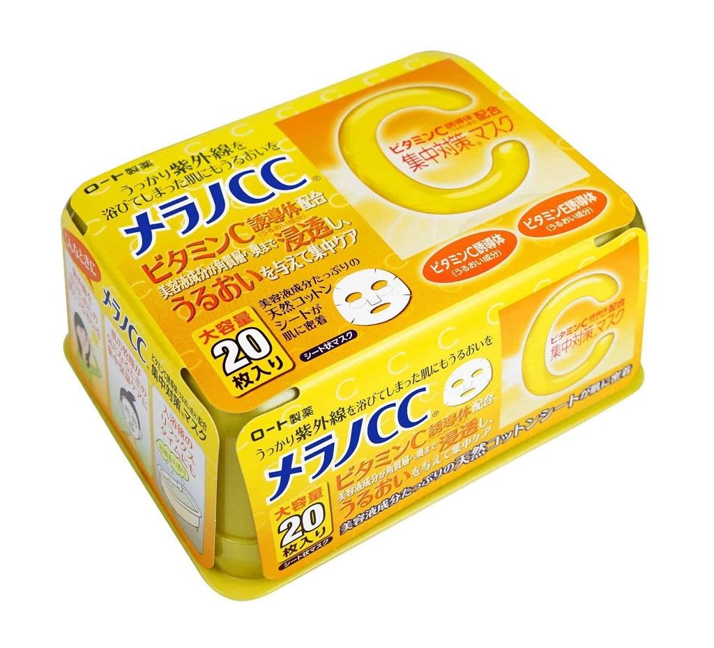 Mặt nạ giấy CC Melano – Nhật Bản