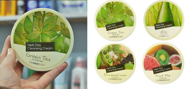 kem-tay-trang-The-Face-Shop-Herb-Day-365-Cleansing-Cream