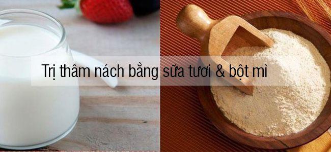 tri-tham-nach-bang-sua-tuoi-va-bot-mi