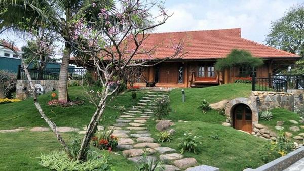 Thiết kế nhà vườn đơn giản nhưng vô cùng đẹp