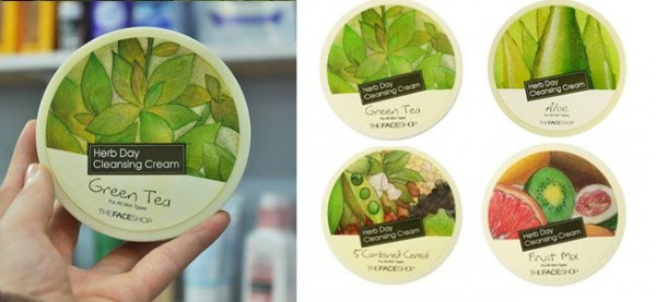 KEM TẨY TRANG THE FACE SHOP – HERB DAY 365 CLEANSING CREAM