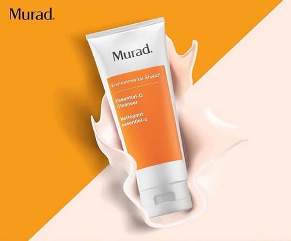 Review sữa rửa mặt murad